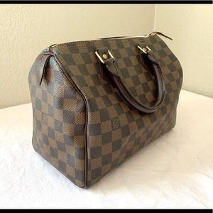 Louis Vuitton Speedy 25 Damier Ebene